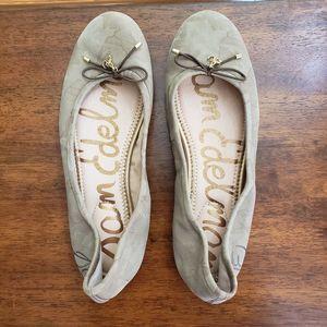 Sam Edelman Felicia Camouflage Print Ballet Flats